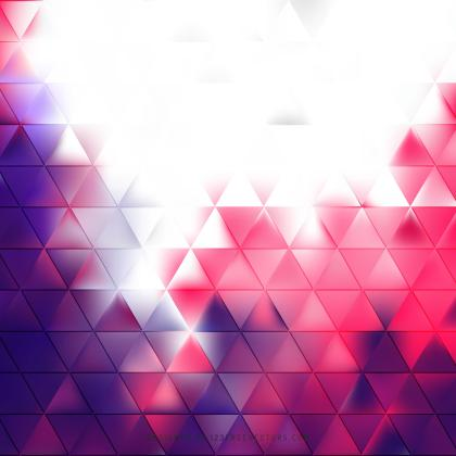 Abstract Purple Pink Triangle Background Template