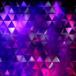 Abstract Dark Purple Triangle Background Graphics