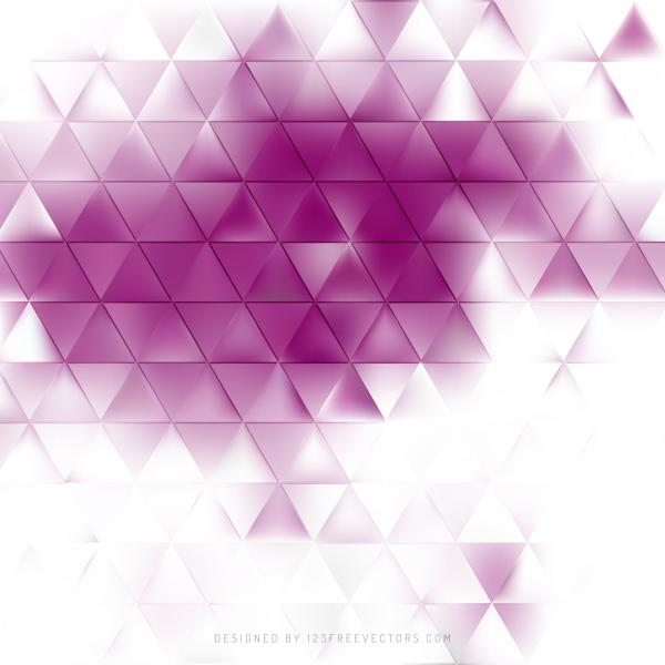 Abstract Light Purple Triangle Background Vector