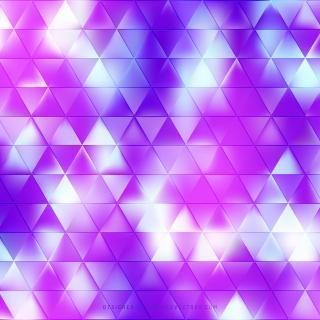 Abstract Blue Purple Triangle Shape Background