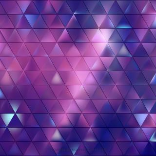 Abstract Blue Purple Geometric Triangle Pattern