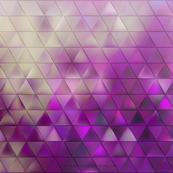 Purple Triangle Background Image