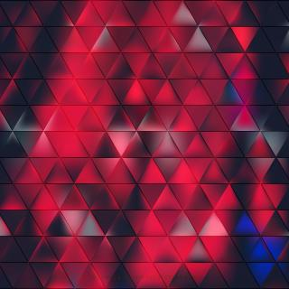 Abstract Dark Red Triangle Background Template