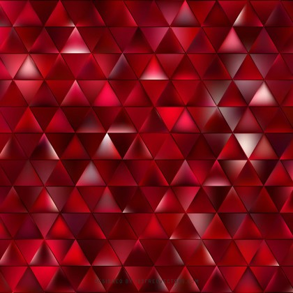 Abstract Dark Red Triangle Background Clip Art