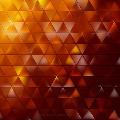 Abstract Red Orange Geometric Triangle Pattern
