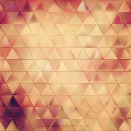 Red Orange Triangle