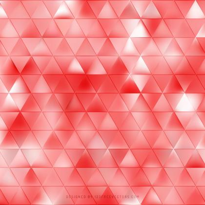 Light Red Triangle Pattern