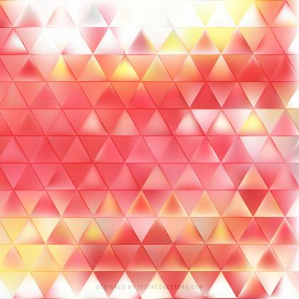 Light Red Triangle Background Illustrator