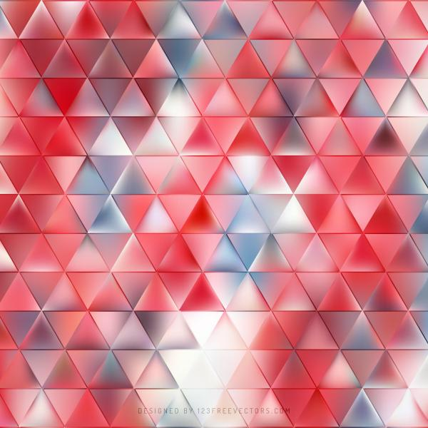 Light Red Triangle Background Template