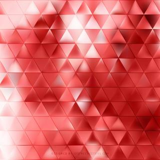 Red Triangle Shape Background