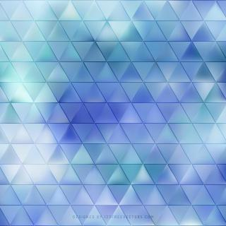 Abstract Turquoise Blue Triangle Vector Background