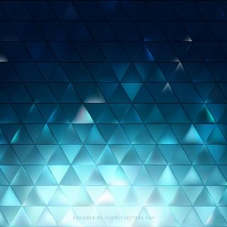 Abstract Dark Turquoise Triangle Background Image