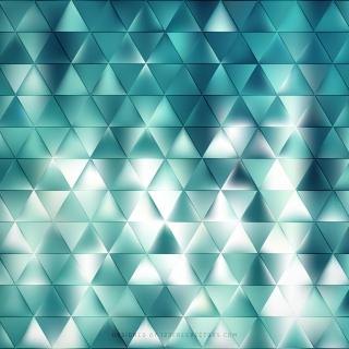 Abstract Turquoise Triangle Background Template