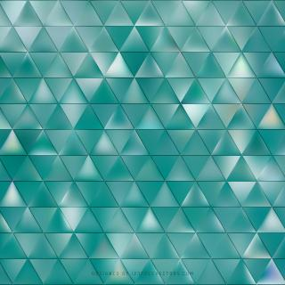Abstract Turquoise Triangle Background Graphics