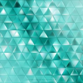 Abstract Turquoise Triangle Background Clip Art