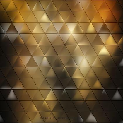 Abstract Black Yellow Geometric Triangle Background