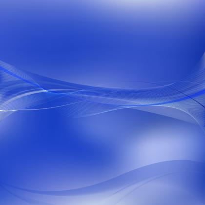 Cobalt Blue Flowing Lines Background Template