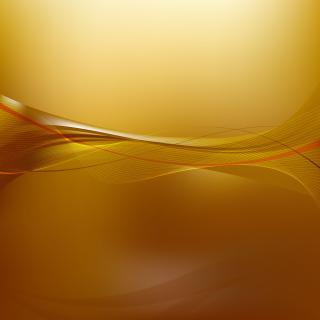 Abstract Orange Flowing Lines Background Template