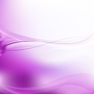 Light Purple Flowing Lines Background