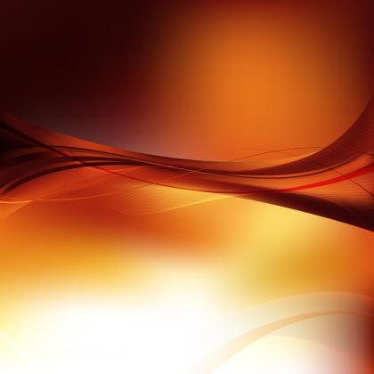 Red Yellow Flowing Lines Background Template