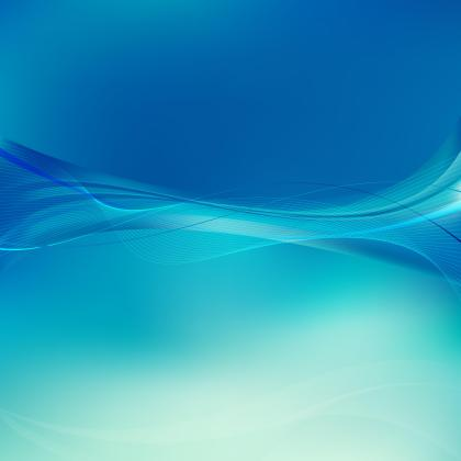 Abstract Turquoise Blue Flowing Lines Background