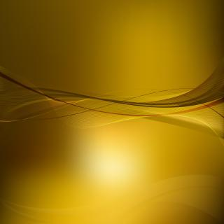 Abstract Dark Goldenrod Curved Lines Background Template
