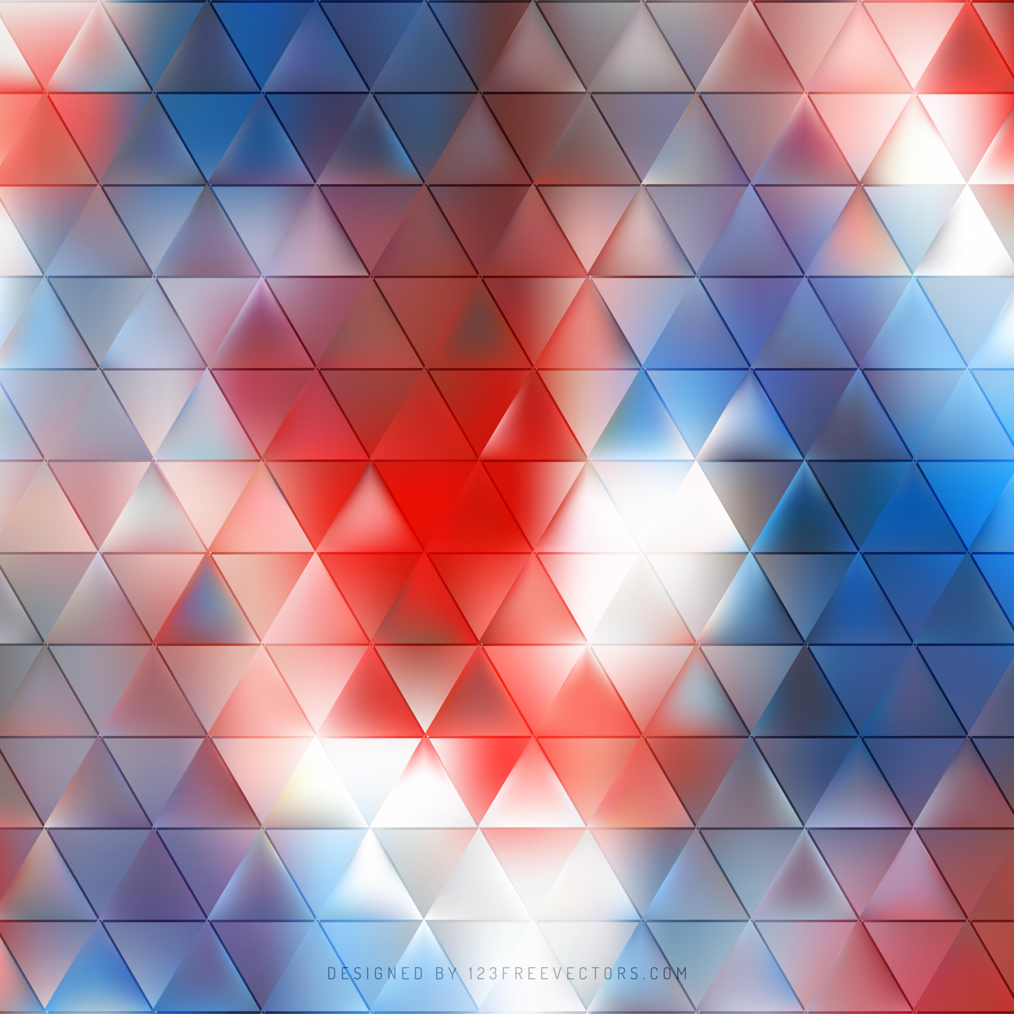 90  blue and red background vectors
