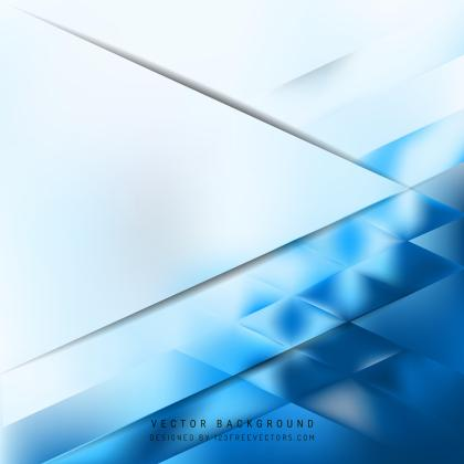 Abstract Blue White Background Design