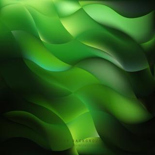 Abstract Black Green Background Design