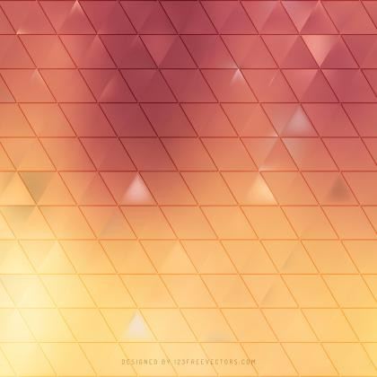 Abstract Orange Background Design