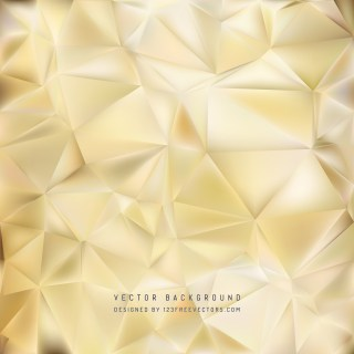 Free Beige Polygonal Background Template Vector Graphic