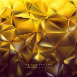 Free Abstract Dark Orange Polygonal Background Vector Graphic