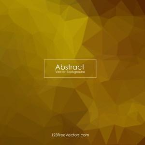Free Abstract Dark Orange Polygon Triangle Background Illustrator
