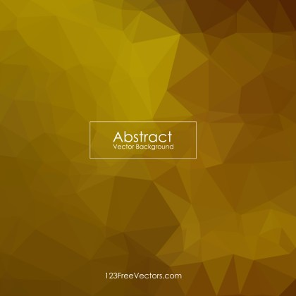 Free Abstract Dark Orange Polygon Triangle Background Illustrator