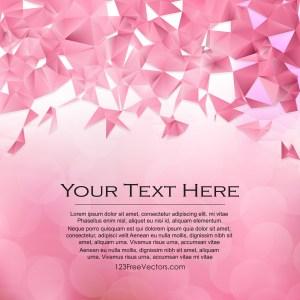 Free Pink Polygon Pattern Background Illustration