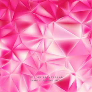 Free Pink Polygon Background Template Design