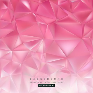Free Pink Low Poly Background Image