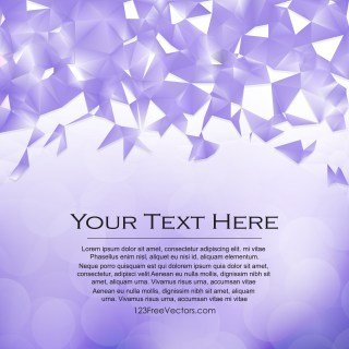 Free Violet Low Poly Background Template Vector Graphic