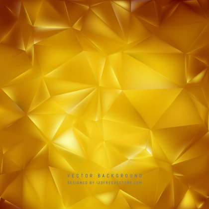 Free Gold Geometric Polygon Background Graphic