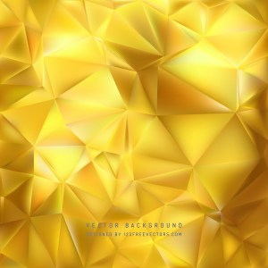 Free Abstract Gold Polygon Pattern Background Design