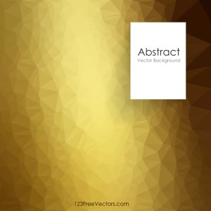 Free Abstract Gold Polygon Background Template Image