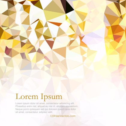 Free Abstract Light Color Polygonal Background Template Vector Art