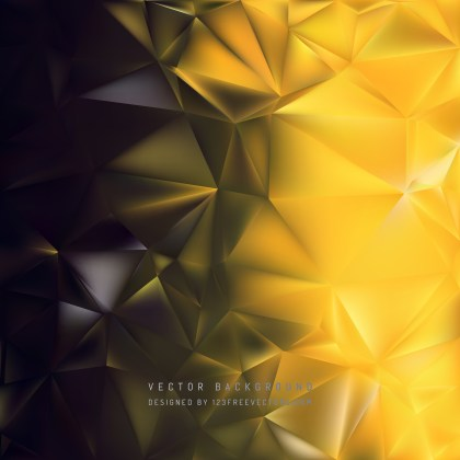 Free Cool Gold Polygon Background Design