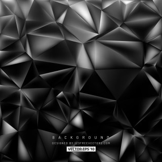 Free Cool Grey Polygonal Background Vector Art