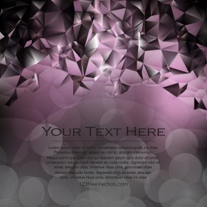 Free Purple and Black Polygonal Background Template Graphic