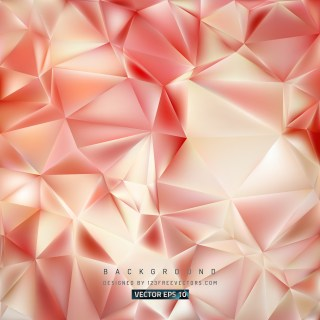 Free Abstract Beige and Red Polygonal Triangle Background Image