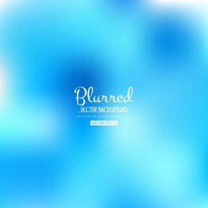 Free Blue Blurred Background Vector