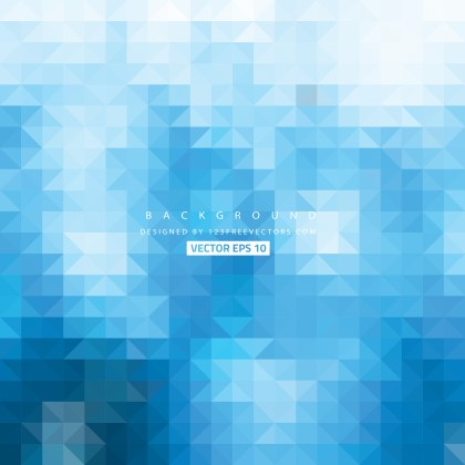 Free Blue Triangle Background Vector