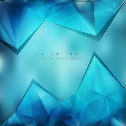 Free Blue Triangle Background Pattern Vector Art