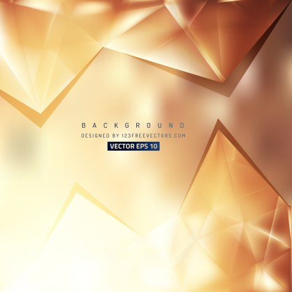 Free Brown Triangle Background Pattern Vector Image
